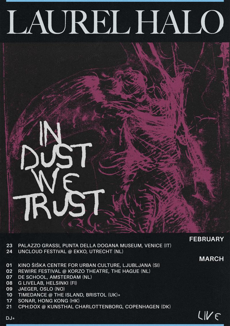 In Dust We Trust / Spring 2018 Live Dates Pt. 1