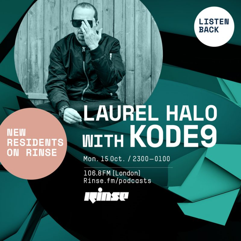 Rinse.FM Residency #5 with Kode 9