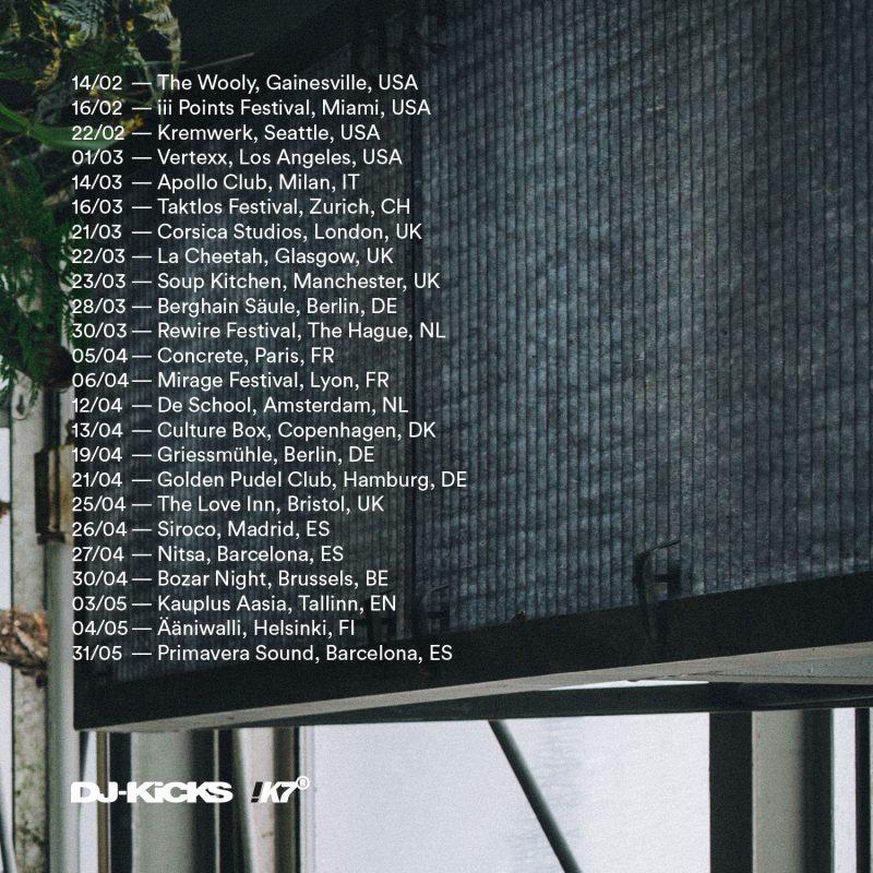DJ-Kicks Tour