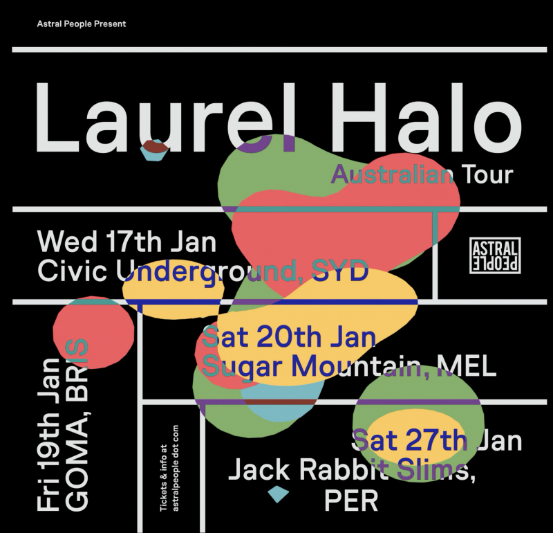 Laurel Halo Australia Tour 2018