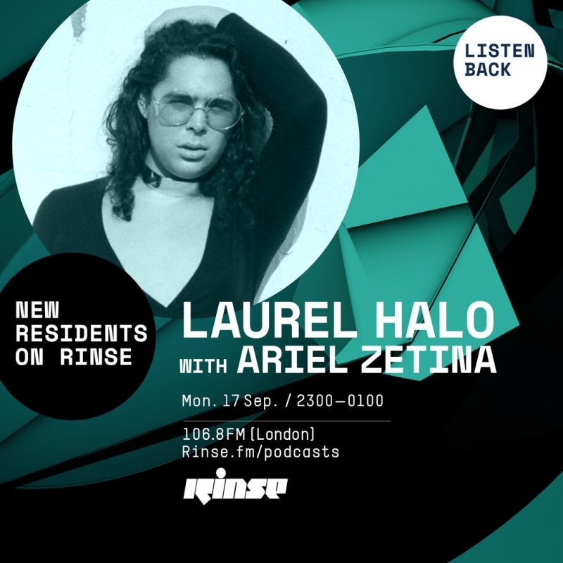 Rinse.FM Residency #4 with Ariel Zetina