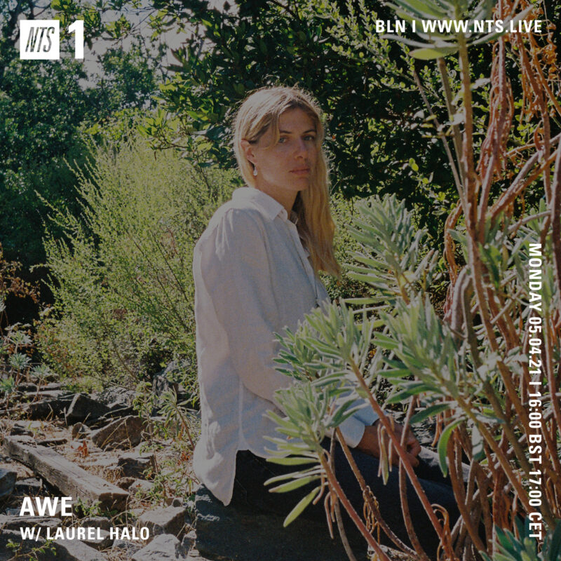 """Awe on NTS (5 April 2021) <p><a href=""""https://www.nts.live/shows/laurel-halo/episodes/awe-w-laurel-halo-5th-april-2021"""">https://www.nts.live/shows/laurel-halo/episodes/awe-w-laurel-halo-5th-april-2021</a></p>"""