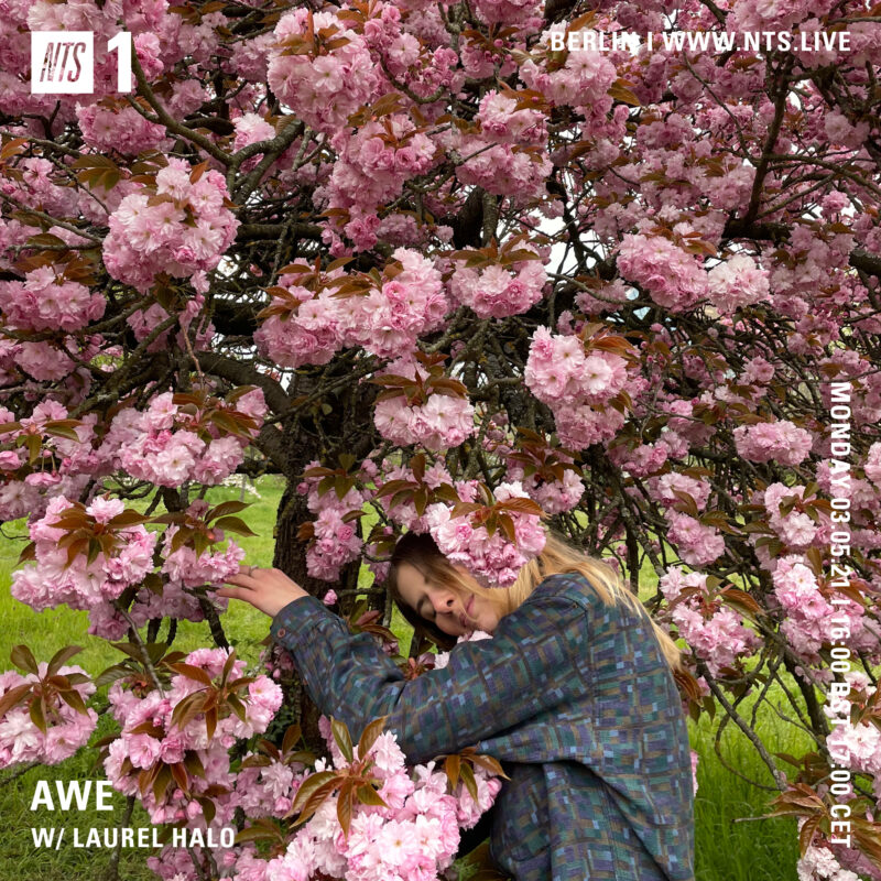 """Awe on NTS (3 May 2021) <p><a href=""""https://www.nts.live/shows/laurel-halo/episodes/awe-w-laurel-halo-2nd-may-2021"""">https://www.nts.live/shows/laurel-halo/episodes/awe-w-laurel-halo-2nd-may-2021</a></p>"""